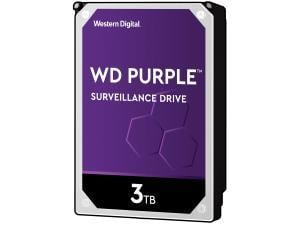 WD Purple 3TB 3.5And#34; Surveillance Hard Drive HDD