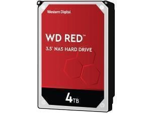 WD Red 4TB 3.5And#34; NAS Hard Drive HDD