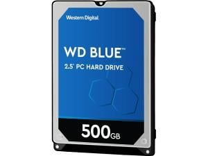 WD Blue 500GB 2.5And#34; Notebook Hard Drive HDD