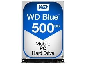 WD Blue 500GB 2.5inch Laptop Hard Drive HDD