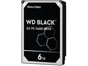 WD Black 6TB 3.5And#34; Hard Drive HDD