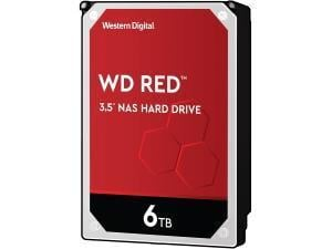 WD Red 6TB 3.5And#34; Desktop NAS Hard Drive HDD