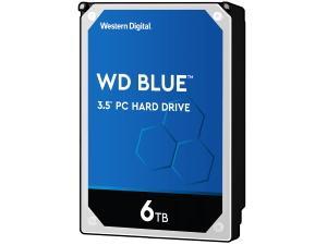 WD Blue 6TB 3.5And#34; Desktop Hard Drive HDD