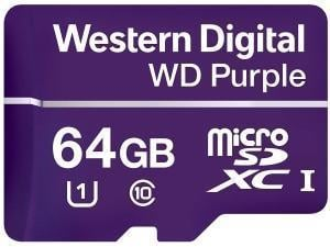 Western Digital Purple 64GB Micro SDXC Class 10 Memory Card