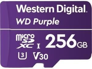 Western Digital Purple 256GB Micro SDXC Class 10 Memory Card