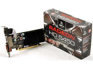 *B-stock - refurbished, signs of use* - XFX Radeon HD 5450 Silent / Low Profile 1GB GDDR3
