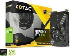 *B-stock item 90days warranty* - ZOTAC GeForce GTX 1060 Mini 3GB GDDR5
