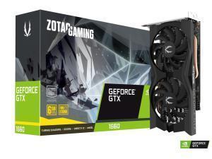 Zotac GTX 1660 Twin Fan 6GB Graphics Card